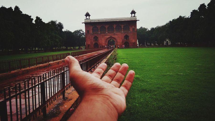 Inside Red fort