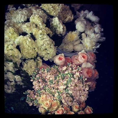 WeddingFlowers processing flowers for the wedding this weekend... Halsteadwedding Sbeevents Sbedesign thesouthernweddingexperience love lifeofaplanner