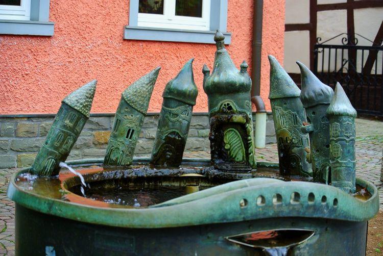 Fountain Art Stadtgespräch Heinbach Eifel