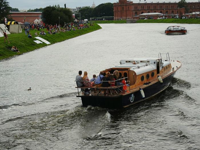 The Boat Ships⚓️⛵️🚢 River Sankt-peterburg Russia Relaxing On The Way Adventure Club Summer Views Sunday