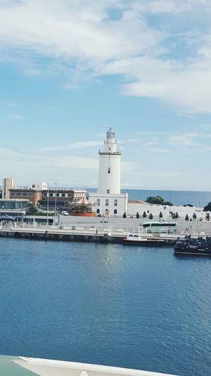 La farola de Malaga Malaga♡ Malagaport Frankpancorbo First Eyeem Photo