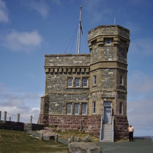 Cabot Tower, St.John's, NL. Cabot Tower St. John's Newfoundland One Of The First Trans-Atlantic Wireless Communication Sites National Historic Site Canada Marconi Station