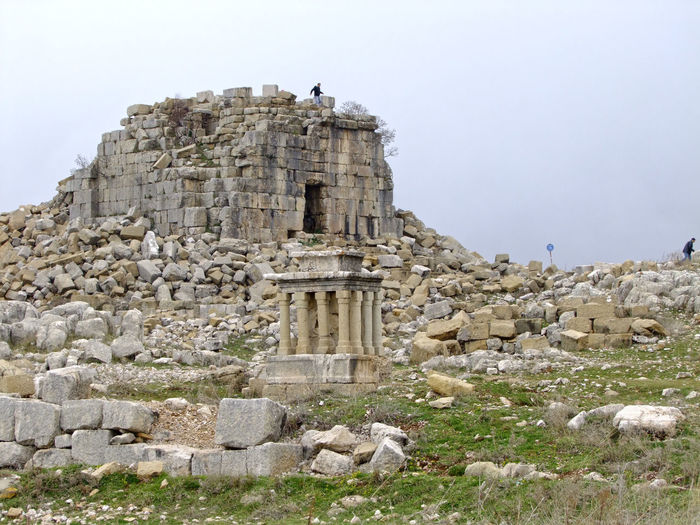my lebanon Ancient Ancient Civilization Archaeology Architecture Cultures Day Faqra Lebanon History No People Old Ruin Outdoors Place Of Worship Relaxing Romain Ru Sky Tourism Travel Destinations