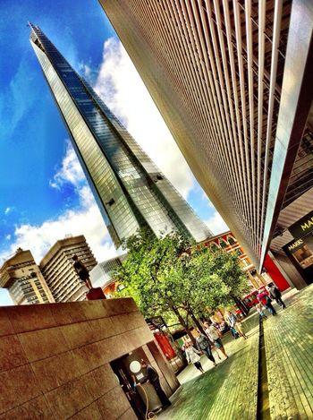 Slanty Shard London The Shard HDR IPhone
