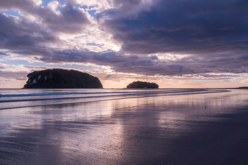 Beach Beauty In Nature Cloud - Sky Day Dramatic Sky Horizon Over Water Nature No People Outdoors Sand Sea Sky Sunset