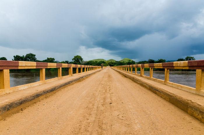 Landscape Africa Congolese Congo Brazzaville Congo Bridge Bridge - Man Made Structure