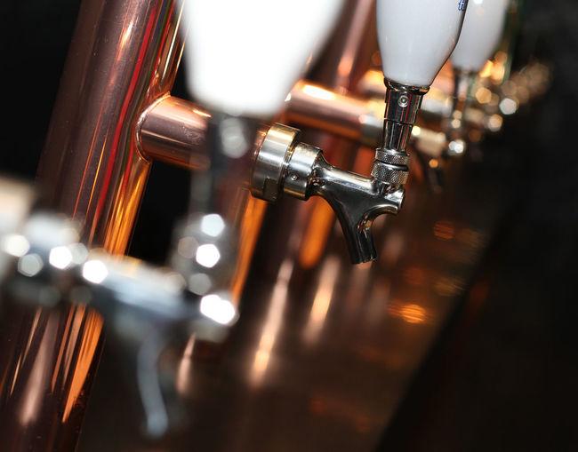 Close-up of a machine