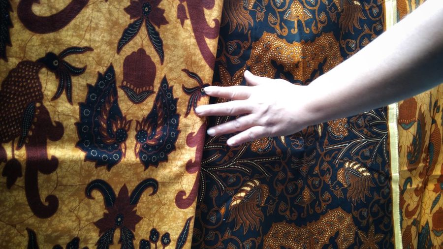 jatik batik is the heritage of indonesia and used as national dress for formal events in indonesia