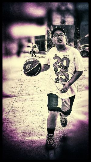 Streetbasketball Iphonephotography Son