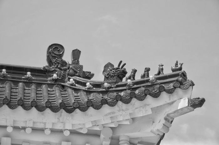 Architecture Sky Built Structure Low Angle View Day Arts Culture And Entertainment No People Outdoors Carousel Canong3x City History Architecture Travel Destinations Monochrome Mono Monochrome Photography Monochromatic Monochrome _ Collection Monochrome_life