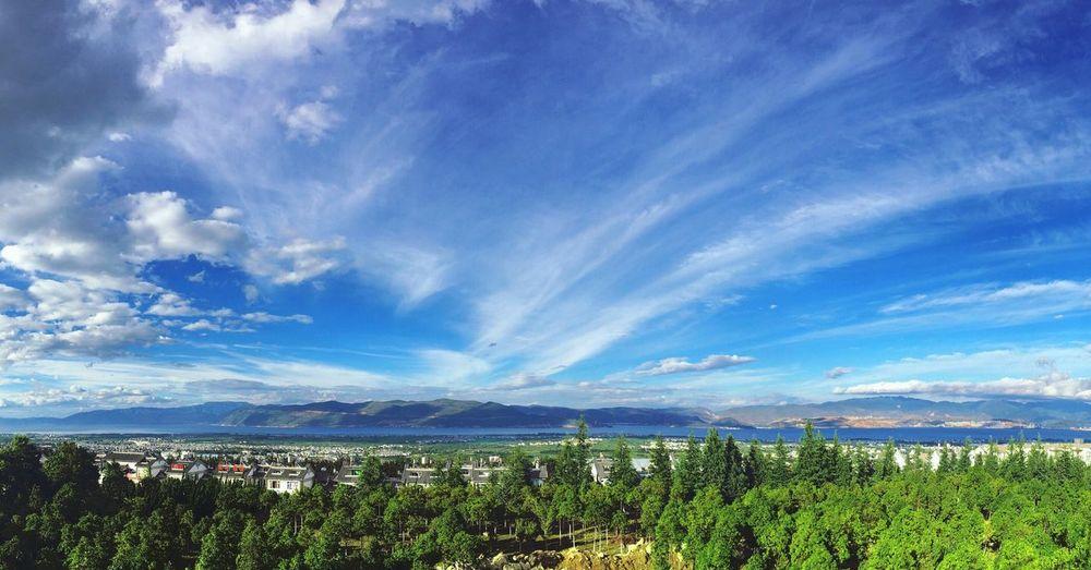 Hello World Enjoying Life Taking Photos Naturallandscape Sky Clouds Sightseeing