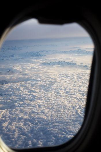 Blu Cloudscape