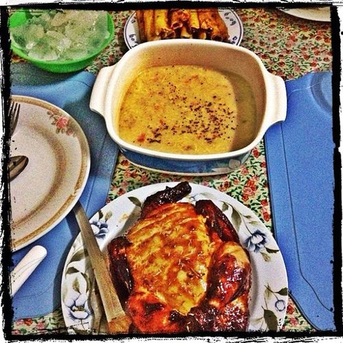 ThankYou sa Gracia . Nov1 Nomnomnom Yum supper dinner