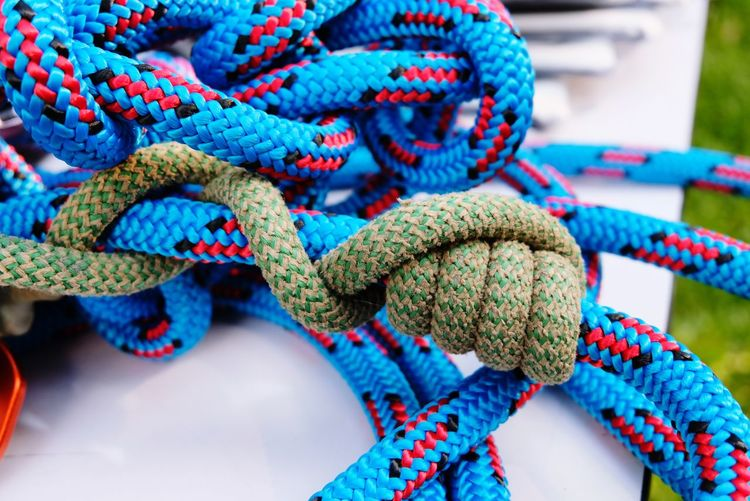 Rope LINE Knot Climbing Close-up Safety Clambering Rock Climbing Mountain Climbing Climbing Equipment Climbing Rope