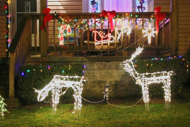 Christmas Around The World A neighbors front yard in Buffalo NY. Walking Around Merry Christmas Christmas Is Coming Kwanzaa Happy Hanukkah Noel2015 Feliznavidad Happynewyear Holidays Christmastime Christmas Spirit Buffalo,ny Enjoying Life Christmas 2015 Christmas Decorations Celebrate Tradition The Culture Of The Holidays