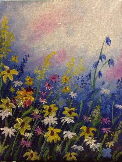 Wild flowers Flowers Mypainting Streamzoofamily StreamzooPics