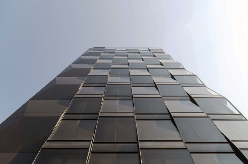 Directly Below Outdoors Pattern Nature Glass - Material Clear Sky Skyscraper Day Tower No People Modern City Tall - High Office Building Exterior Office Sky Low Angle View Building Building Exterior Built Structure Architecture My Best Photo