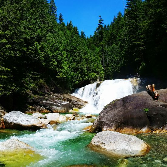 Golden Ears Park Hiking View Gold Creek Falls Maple Ridge BC