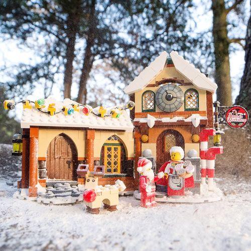 Le Père Noël est bien rentré ! Christmastime Santaclaus Santa House Snow Noël Neige Christmas