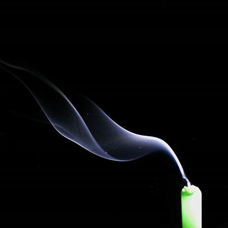 Photographing smoke is something that always overwhelms me. I'd reached 146 shots when I realised 1 am was a good time to go to sleep. I just couldn't get over how unique every single shot was! Smoke Photography Night Candle Bekrnb