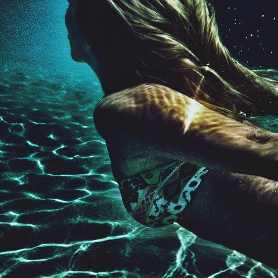 Summer Underwater Sea Where There Is Light, There Is Love.