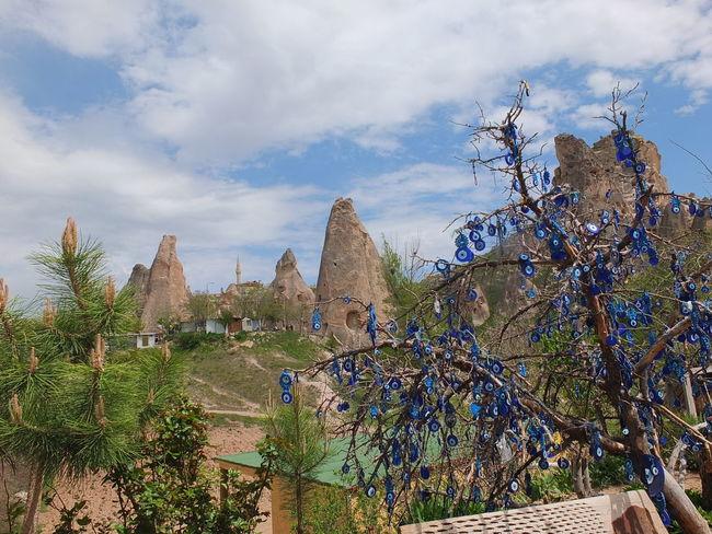 NevşehirKapadokya Capadokia,Turkey Uchisar Kalesi ... Urgup Uchisa