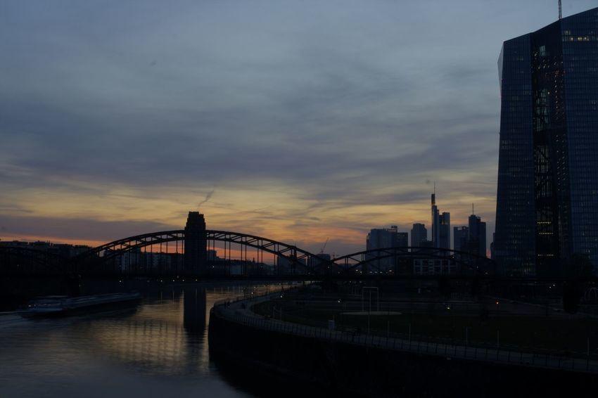 Cloud - Sky Ecb EZB Frankfurt No People Outdoors Sky The Architect - 2016 EyeEm Awards