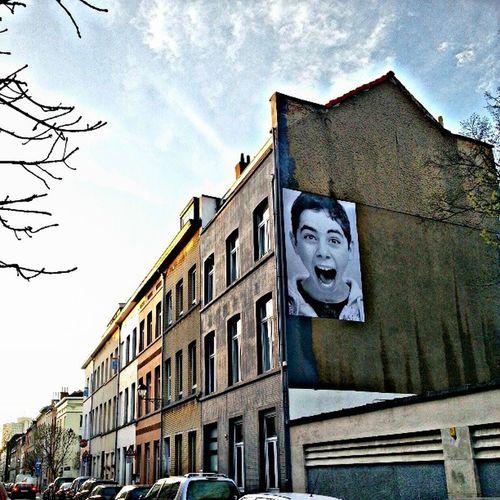 Ixellois sur les murs de La ville Ixelles Brussels Insideout Publicart urbanart picture exhibition