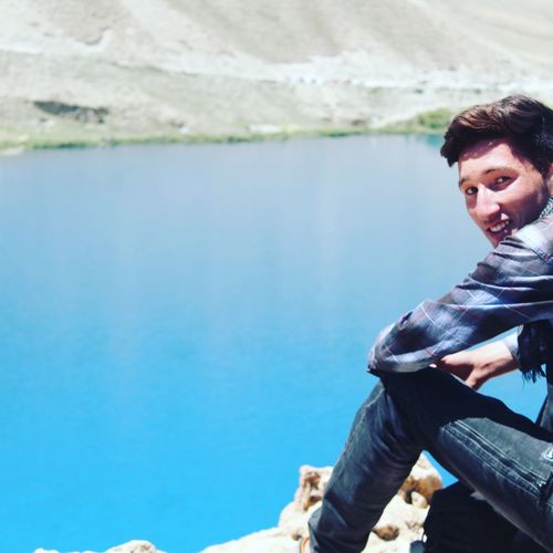 Band e Amir Water Portrait Sitting Lake Smiling Women Relaxation Happiness Looking At Camera Mid Adult First Eyeem Photo