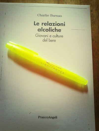 A Noi Due Studying Sociology #sociologia #LeRelazioniAlcoliche #Giovani e #Culture del #Bere