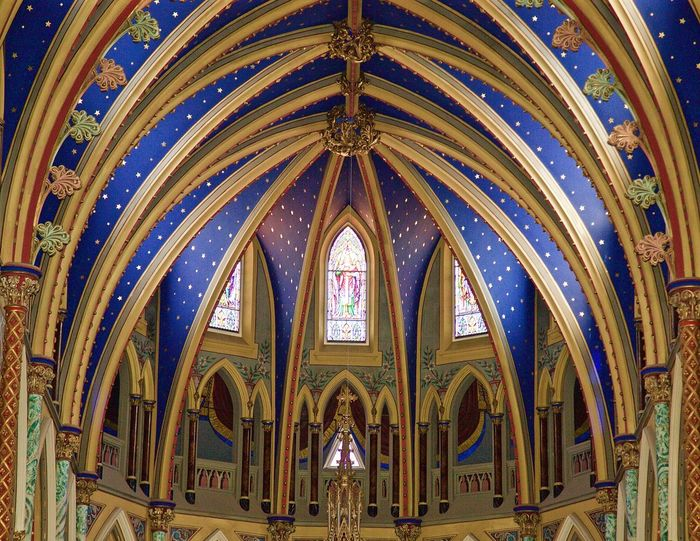 Canada Old Building  Building Cathedral Church Blue Architecture Architecture Photography Bassilica Ottawa Bassilica Ottawa EyeEmNewHere