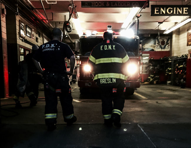 Engine Co 24 Manhattan Fdny NYC Streetphotography Spring2015 Gothams_ambassador