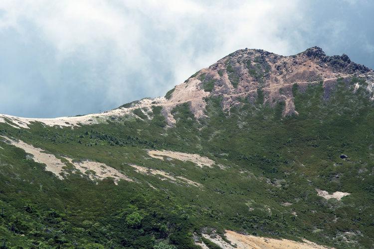 Scenics Nature Mountain Climbling Outdoors Beauty In Nature Mountain_collection Mountains And Sky Cloud - Sky Mountain Peak 根石岳 Chino 茅野 Nagano 長野 Japan