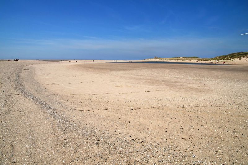 Beach Beauty In Nature Blue Blue Sky Day Landscape Nature Outdoors Sand Scenics Sea Sky Tranquil Scene Tranquility Tweede Maasvlakte Water Breathing Space