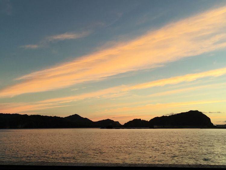 Sky Sunset Beauty In Nature Nature Border Ogasawara Chichijima Tokyo Japan Beatiful