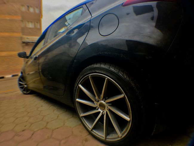 Wheel Cars Hyndai Black Race Drift
