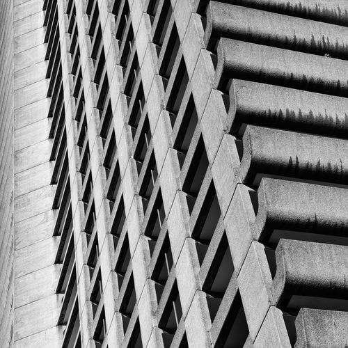 Barbican Estate Abstract Architecture Architecture_collection Blackandwhite Concrete London LONDON❤ Minimalism Pattern Urban Architecture Urban Geometry Urban Photography The Architect - 2017 EyeEm Awards