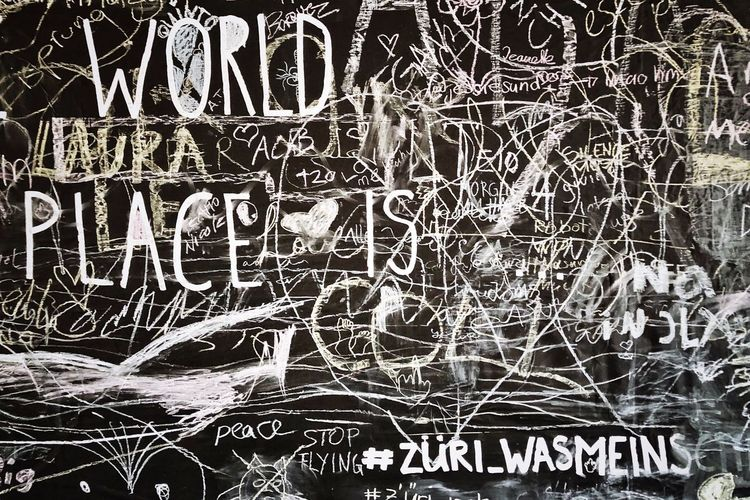 Picoftheday Photography Photooftheday Blackandwhite Wallart City View  Cityphotography Decorations Zürich Artworks Text Western Script Creativity Full Frame Wall - Building Feature Pattern No People Backgrounds Graffiti Art And Craft Architecture Communication Built Structure Abstract Street Art