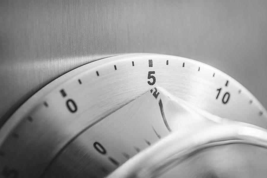 5 Countdown Fridge Reflection Alarm Aluminium Analog Chrome Clock Close-up Counting Five Important Kitchen Timer Kitchen Utensil Macro Metal Minutes Monochrome No People Number Refridgerator Steel Time Timer