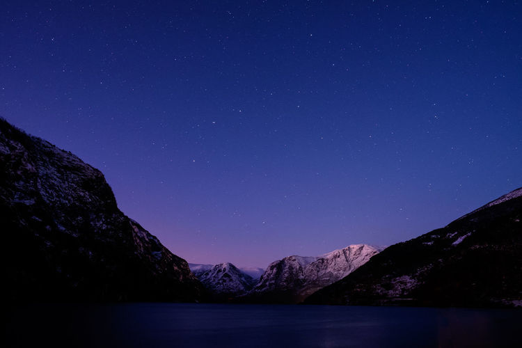 Fjord Night Northstar Norway Astronomy Beauty In Nature Blue Clear Sky Constellation Fjord Mountain Mountain Range Nature Night No People Outdoors Scenics Sky Snowcapped Mountain Star - Space Star Field Starry Sunset Tranquil Scene Tranquility Ursa Minor Water