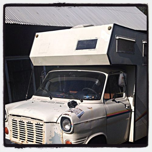 Our cool festival motor home, getting prepared for this year's hard rock festivals! Enjoying Life Hanging Out