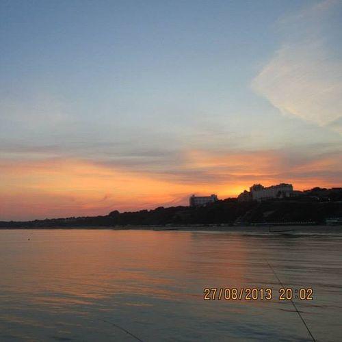 Bournemouth Pier!<3 Bournemouth Beach Sunset Beautiful Lovely Justright L4l Like4like T4l Tag4l F4F Follow Follow4l Followme Like Likeit Loveit Goood Like Follow Muchlove