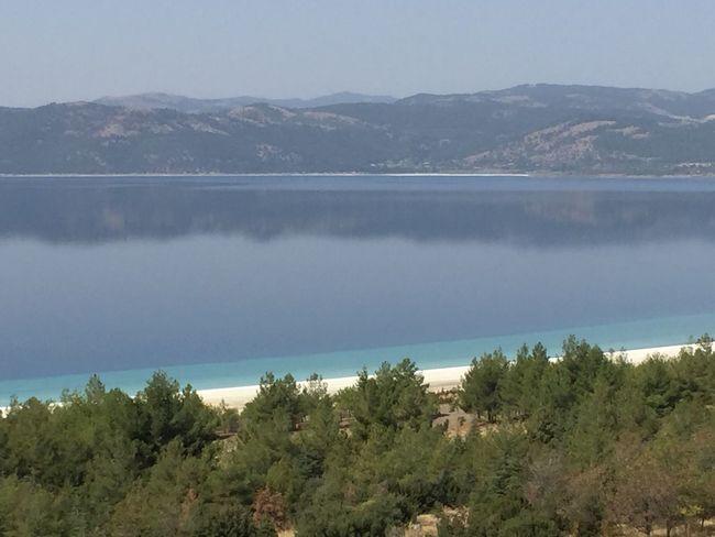 Salda Lake Mirror Turkey Lake