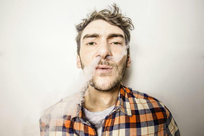 Smoke Man Portrait Terboimagingphoto Smoking Lighting