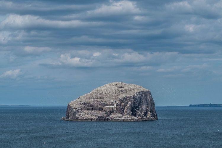 Bass rock. Sea