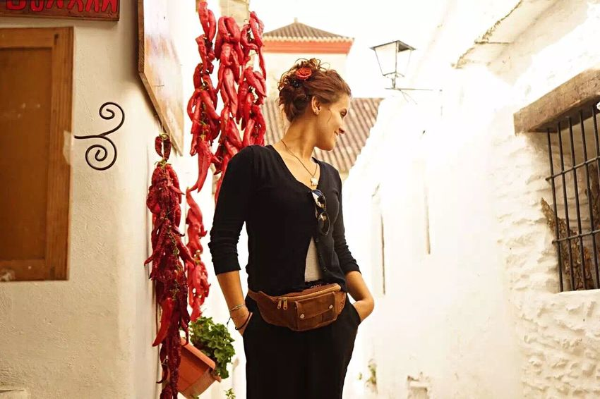 Walk to remember with Crissy in Los Alpujarros Only Women Red Women Outdoors Smiling Beautiful Woman Lifestyles Travel Destinations SPAIN Andalucía Chilli Village