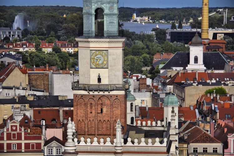 Architecture Juxtapose  Telephoto Perspective Compressed Tower Old Buildings Market Hall Cityscape