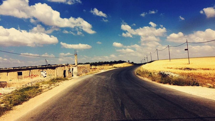 Traveling Home For The Holidays Going to cross the villages and the city's , facing rough roads and long trips just to be with my family Jordan Theoldcity Village View Cloud - Sky The Way Forward Road Landscape