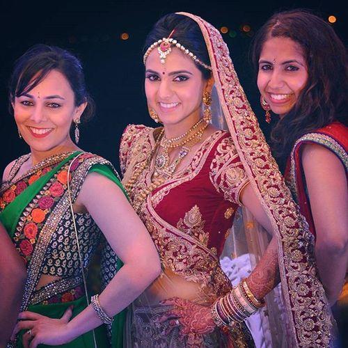 Aeshkydiwedding Bride Bridal Bridefriends Gagans_photography