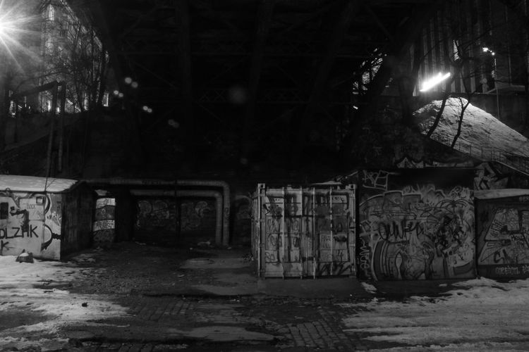 Under The Bridge Underground Graffiti Whiteandblack Urban Geometry Streetphotography Architecture